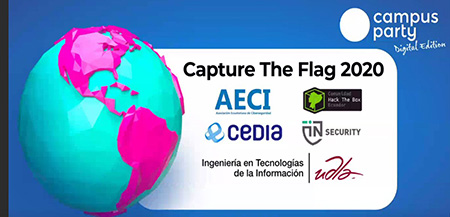 AECI CAPTURE  THE FLAG   TECNOLOGIA